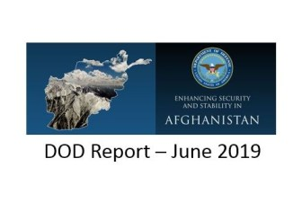 DOD Report on Afghanistan June 2019