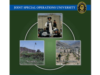 JSOU Report on VSO in Afghanistan