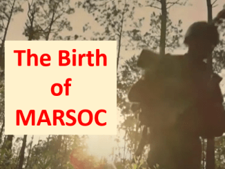 Video - The Birth of MARSOC GSOF Feb 2021