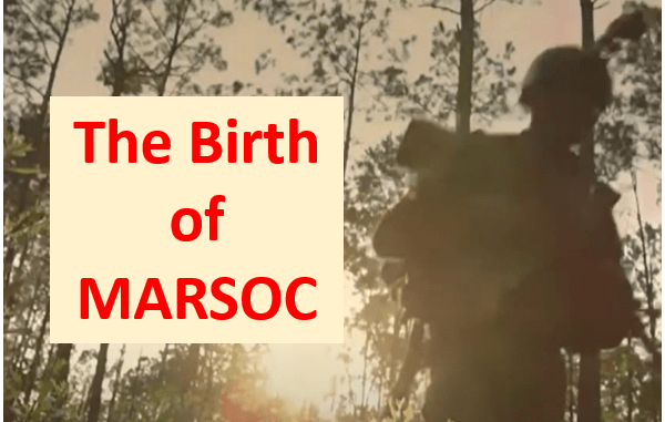 Video - The Birth of MARSOC GSOF Feb 2021