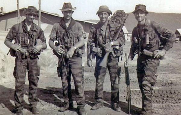 Buck Walters - post-mission photo Vietnam 1966