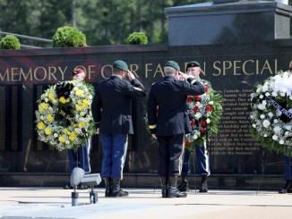 USASOC Memorial Service 2021