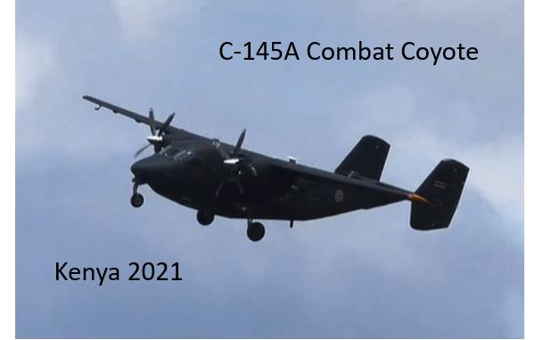 C-145A Combat Coyote
