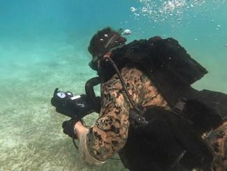 USMC Diver 2nd Recon Battalion