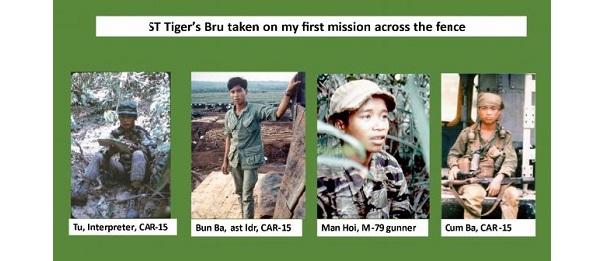 Spike Team Tiger Bru team members MACV-SOG