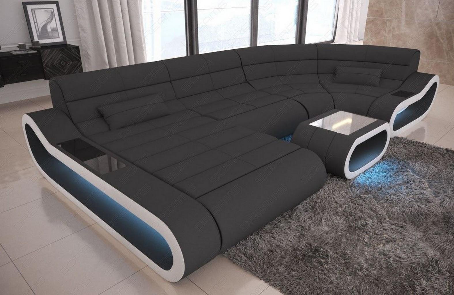Stupendous Big Led Sofa Beutiful Home Inspiration Aditmahrainfo