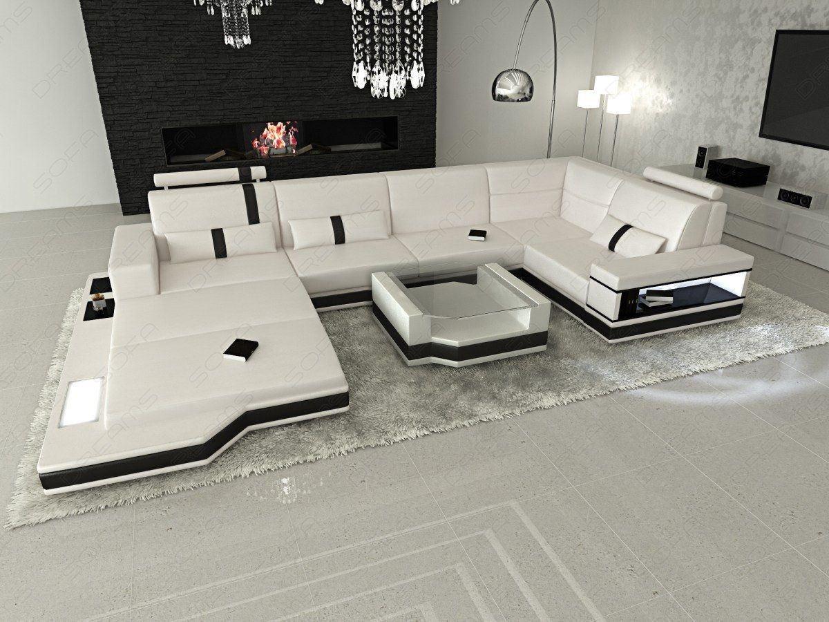 Sofa Dreams Ledersofa Wohnlandschaft Messana L Form Designersofa