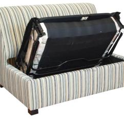Single Armless Sofa Chair Macy S Sleeper Full Brisbane Sofabed Bed Specialists