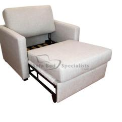 Wheelchair Bed Round Table Size For 6 Chairs Chair Sofabed With Timber Slats Sofa Specialists