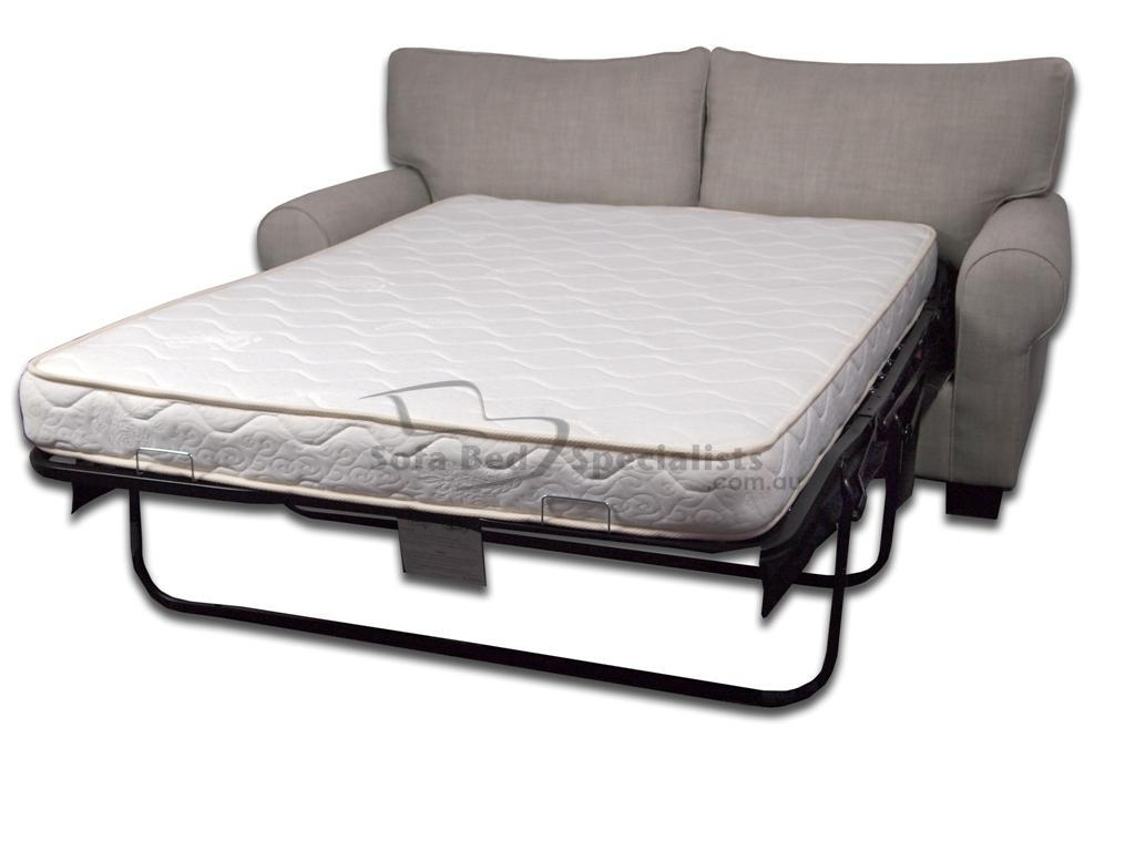 sofa bed with innerspring mattress sheets for rv mosman round arm sofabed specialists