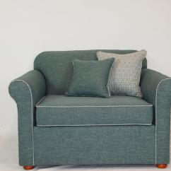 Single Sofa Chair Bernhardt Brae Leather Sofabed Victoria Bed Specialists