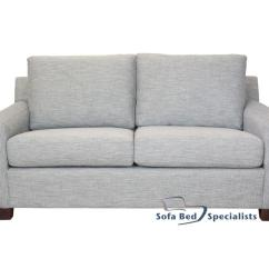 Square Sofa Beds Leather From Italy Mosman Arm Sofabed Or Bed Specialists