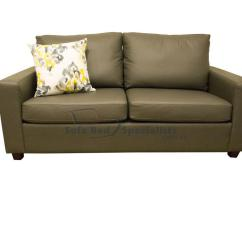 Compact Sofa Bed Australia Reclining Set Sydney Leather Sofabed Specialists