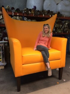 Yes, We can build you a GIANT chair too!