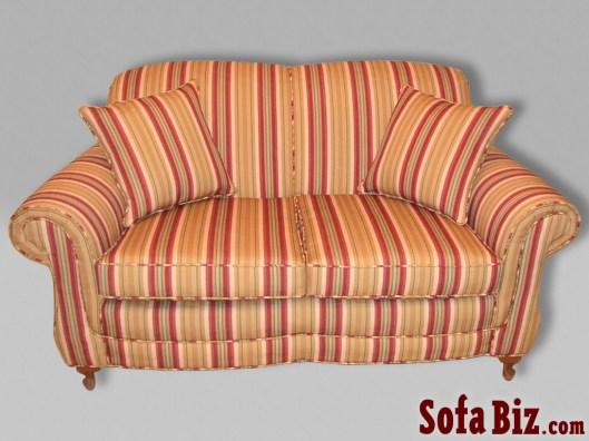 Traditional Tight-Back Sofa