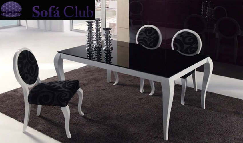Mesa Comedor Cristal Diseño
