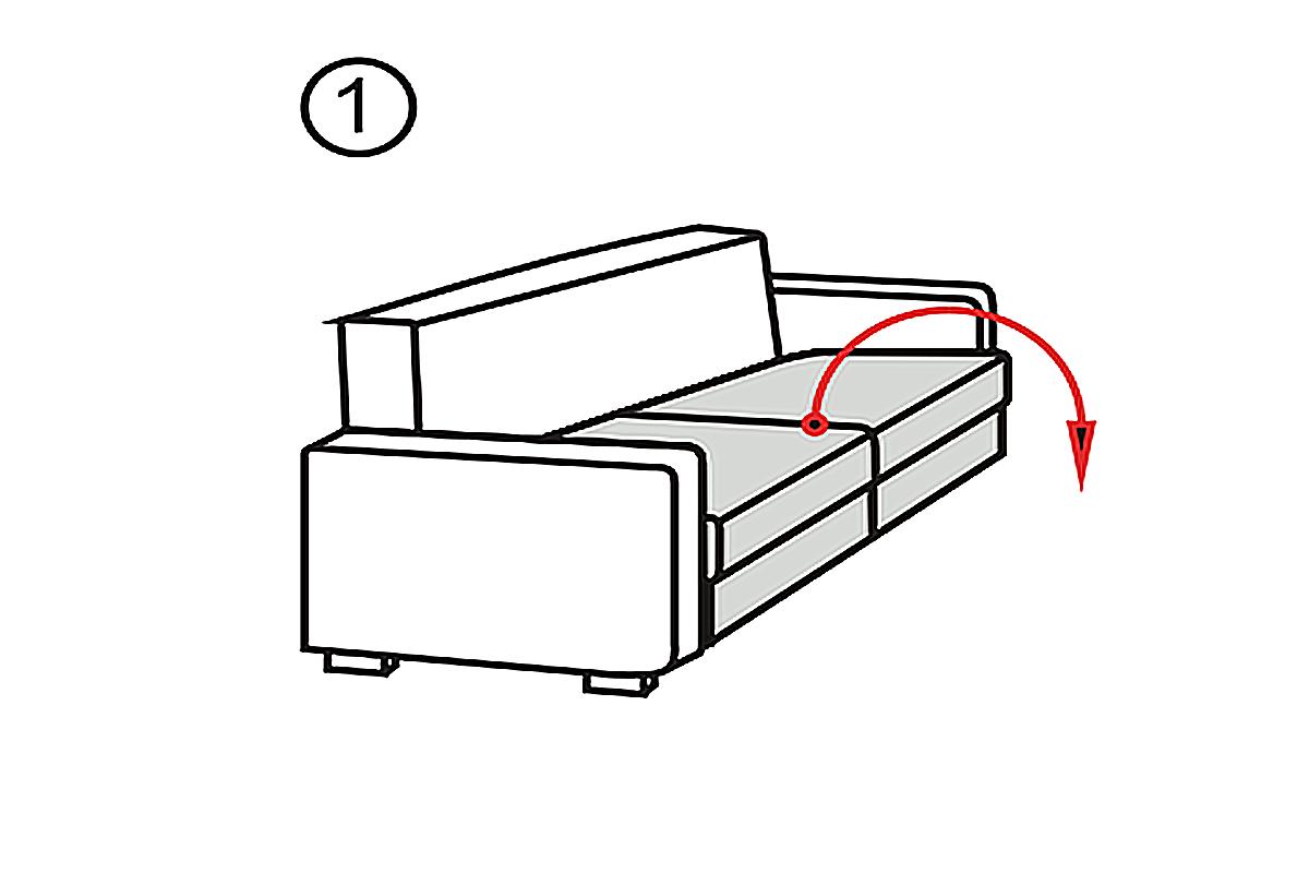 2 Piece Sofa Bed