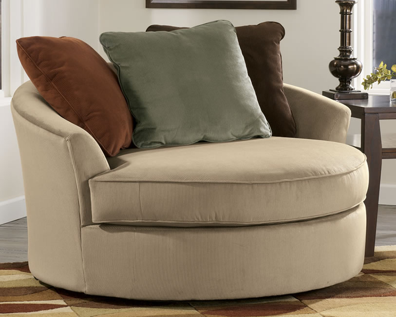 Large Round Living Room Chairs