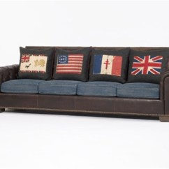 Sofa In A Box Cheap Doctor Nyc Denim Overstuffed – Couch & Ideas Interior ...