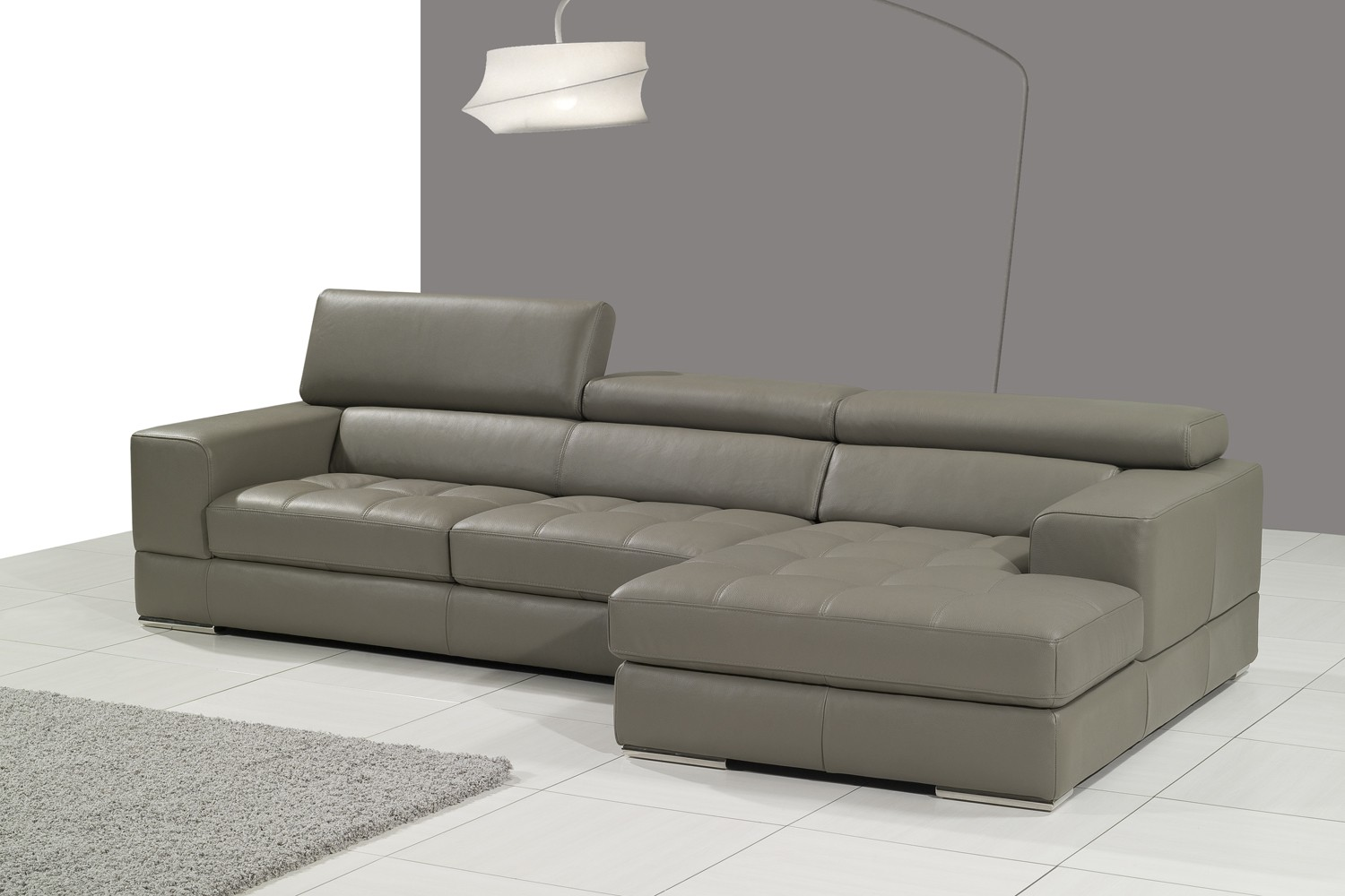 lusso horizon modern grey fabric leather sectional sofa mart coupon the best of 30 brands sofas