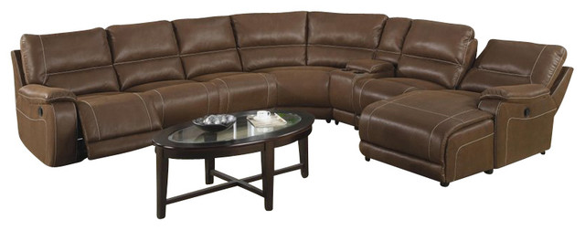 Loukas Extra Long Reclining Sectional Sofa With Chaise By Coaster  sc 1 st  Centerfieldbar.com : extra long sofa with chaise - Sectionals, Sofas & Couches
