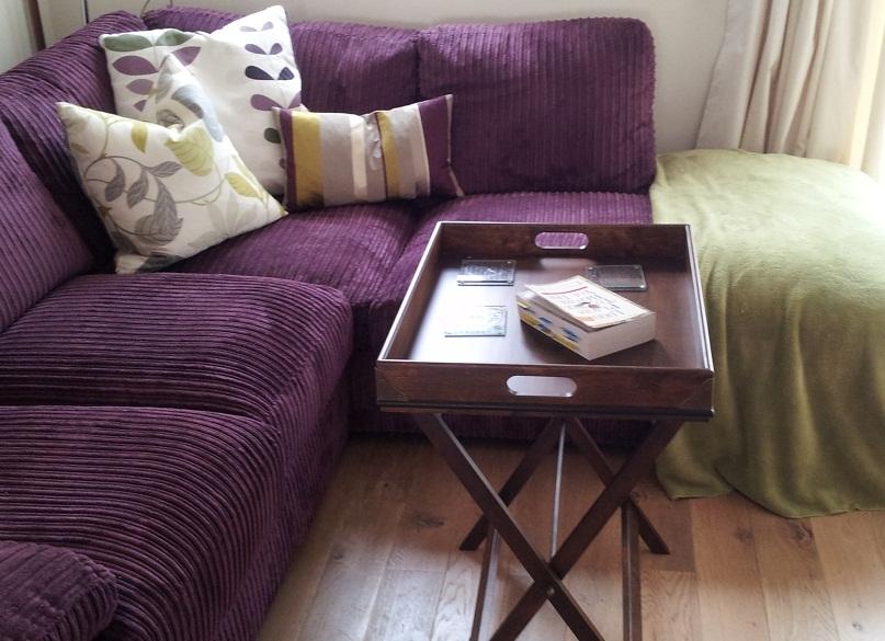 purple sofa what colour walls  Couch  Sofa Ideas