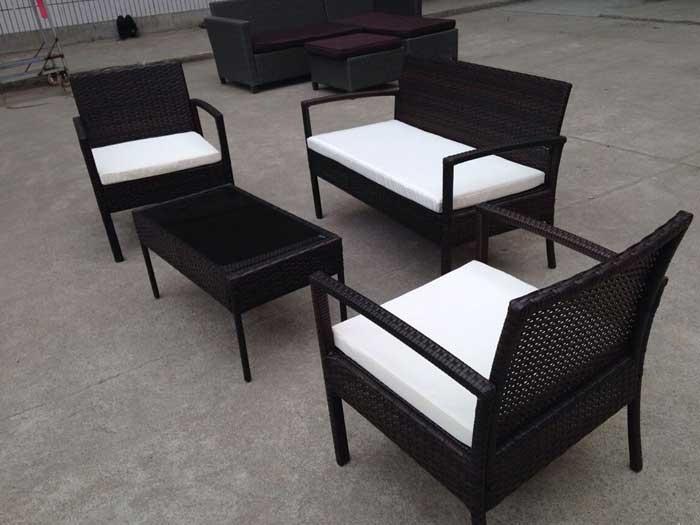 Impressive Rattan Garden Furniture Deals By Tesco  Couch