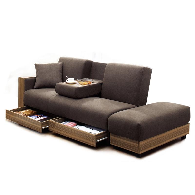 SQ71 日式多功能實木儲物梳化床 送咕口臣