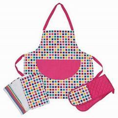 Kitchen Wear Contemporary Rugs Apron Muslin Bag Sofar International 3 Pcs Set Copy D68eae15f1