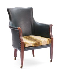 Victorian Library Chair  Sofas & Chairs