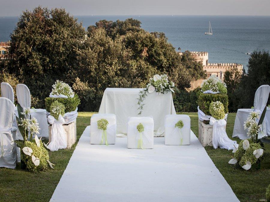 Castello Borghese Nettuno: matrimoni da favola