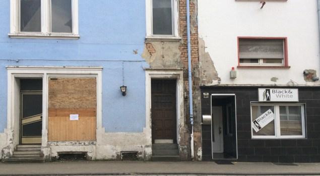 Versiffte Fassaden