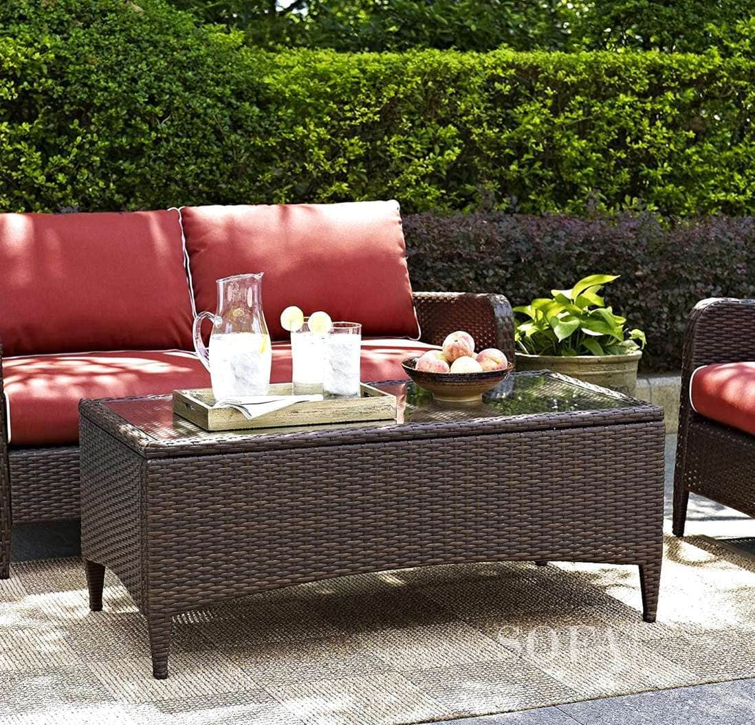 The Best Wicker Coffee Tables In 2021   Gorgeous & Stylish
