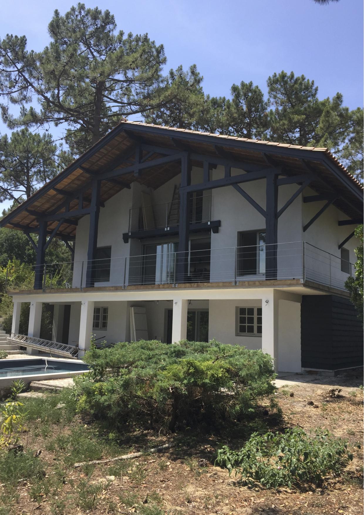 Rnovation dune maison de type landaise  Cap Ferret