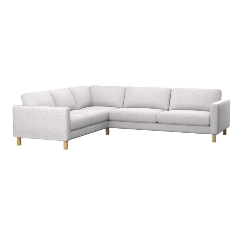 ikea karlstad sofa covers uk sm bed 2+3/3+2 corner cover - soferia | ...