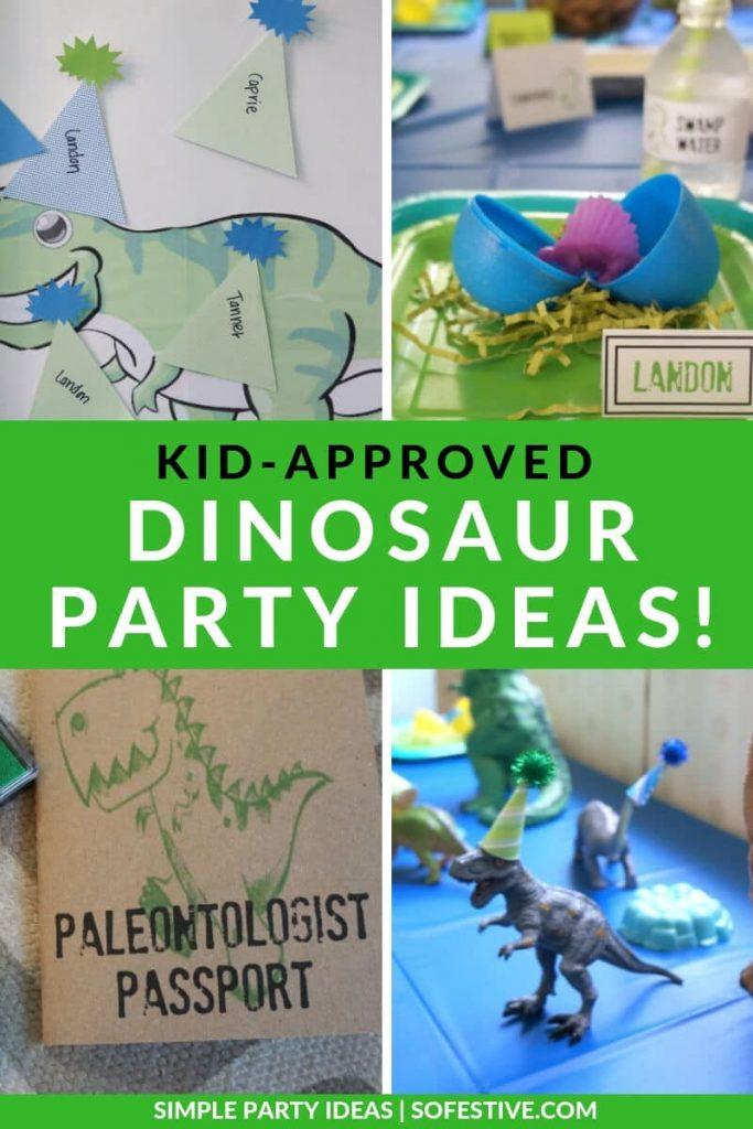 20 dinosaur birthday party ideas