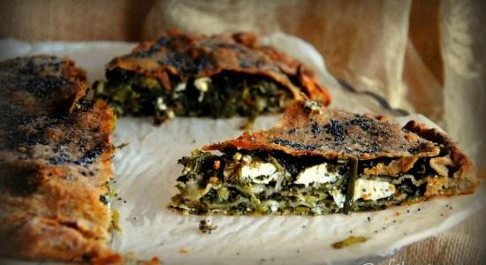 Σπανακοτυρόπιτα με τραγανό φύλλο ολικής αλέσεως αλά Sofeto!