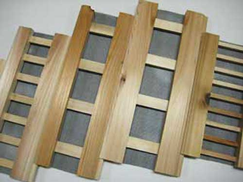 quality hand crafted wood soffit vents