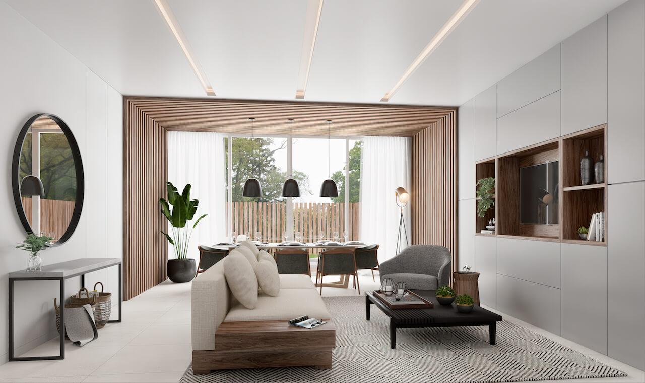 Apartamento JD 3D - Sala Comum | JD Apartment 3D - Common Room