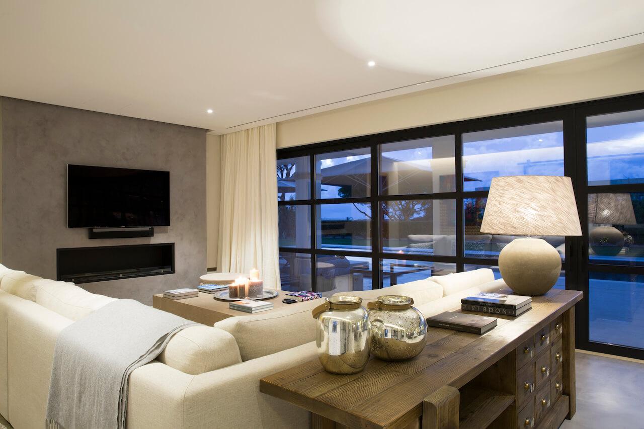 Casa SB - Sala de Estar   SB House - Living Room