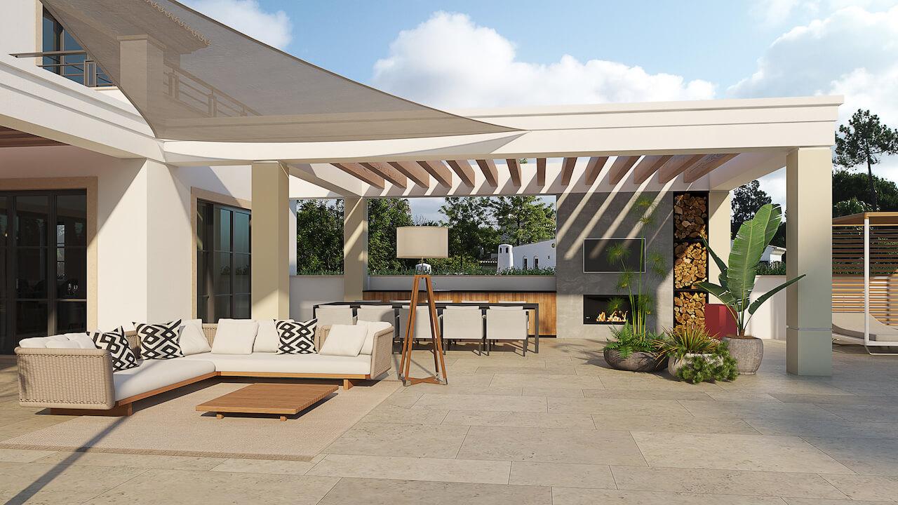 Casa MG 3D - Quintal | MG House 3D - Backyard