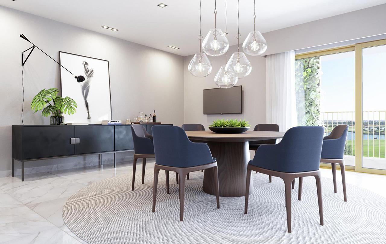 Suite Presidencial - Sala de Jantar   Presidential Suite - Dining Room