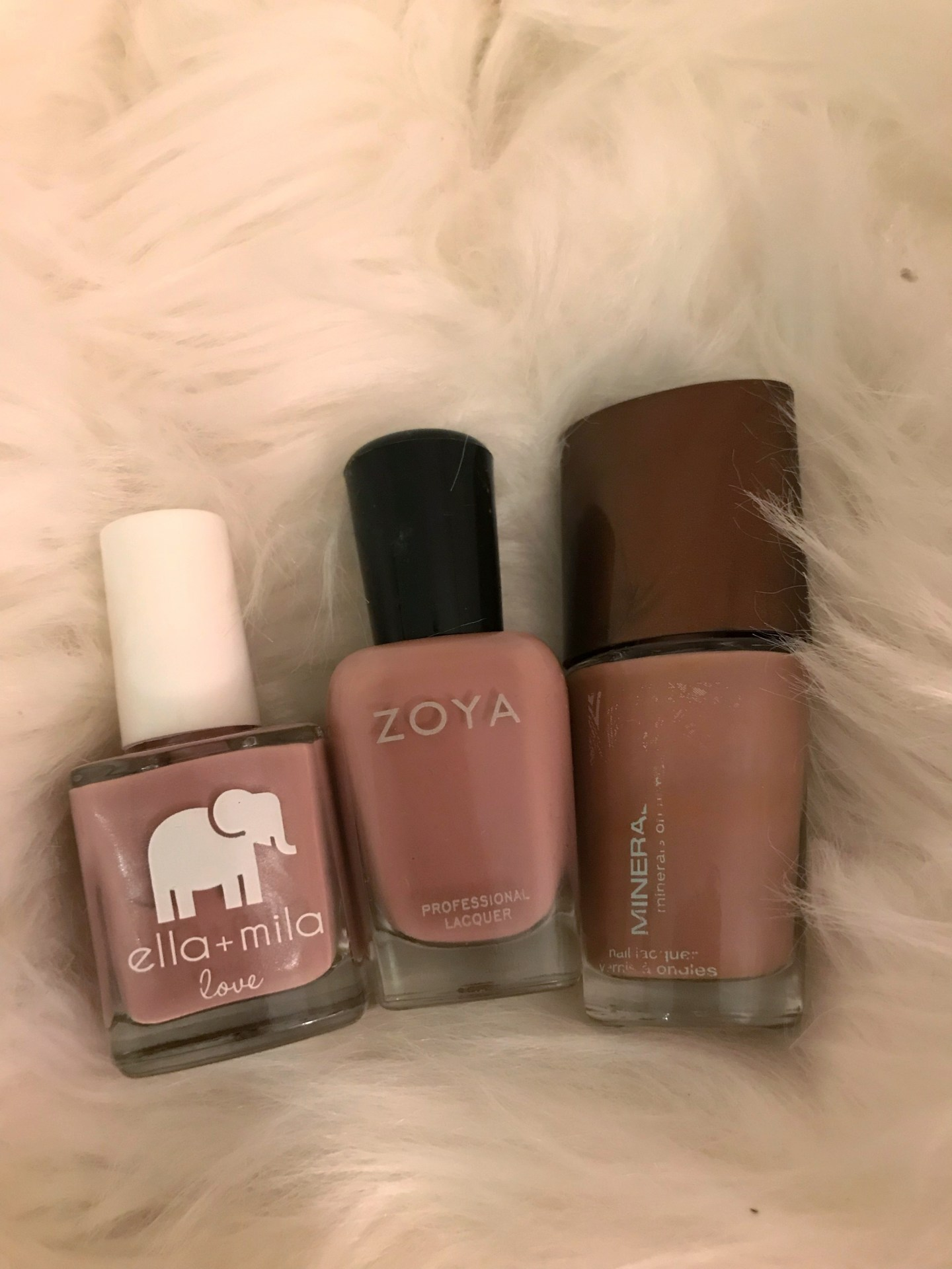 A Review of Some Natural Nail Polishes