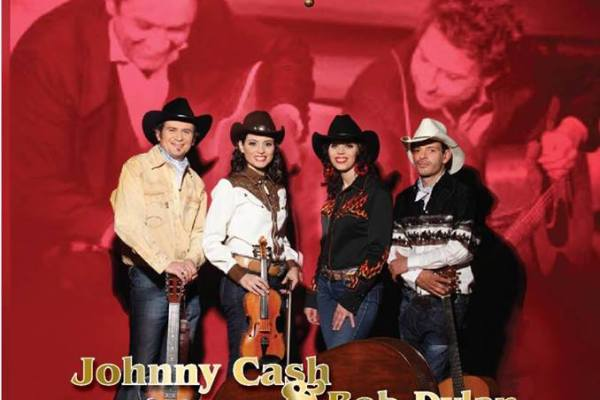 Johnny Cash & Bob Dylan Live Tribute by Lily of the West   Tap 12 Blues Bar   September 14