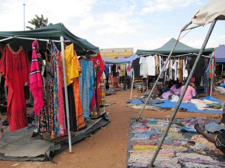 Sofia Latif Centenary Park market Kampala