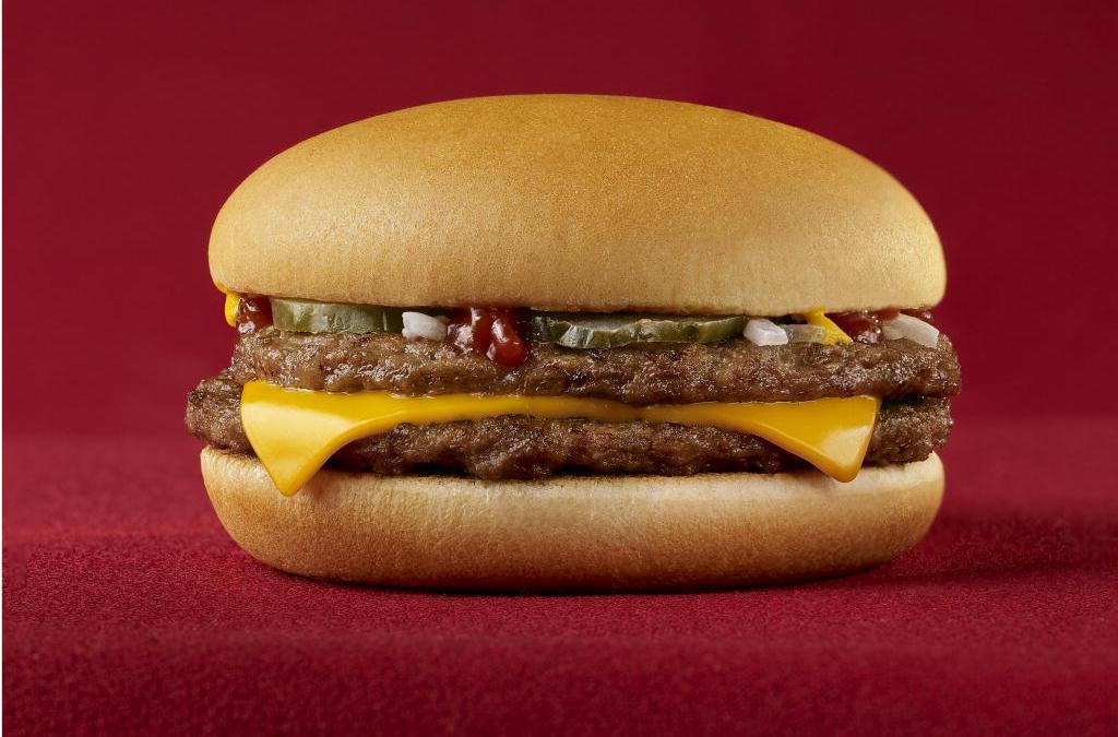 La verdad detrás de la foto de una hamburguesa