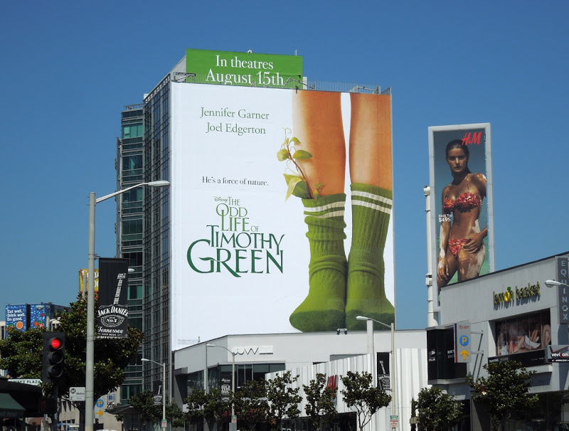 odd timothy green billboard