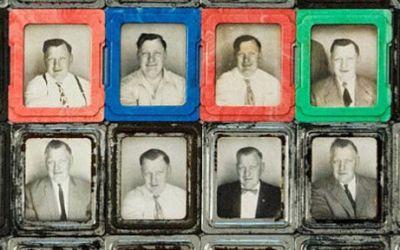 Los misteriosos «selfies» de mediados del siglo pasado
