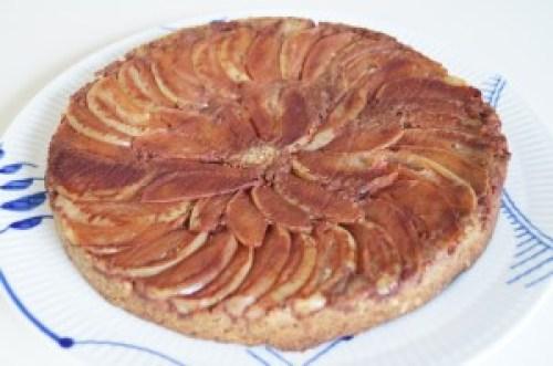 Low carb æbletærte