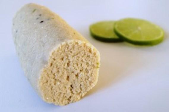 Marcipan med kiwi og lime